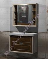 """Комплект мебели для ванной """"Лестер 90"""" из массива дерева"""